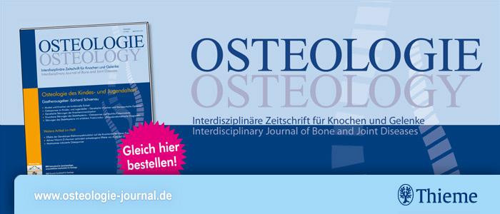 Fachzeitschrift OSTEOLOGIE